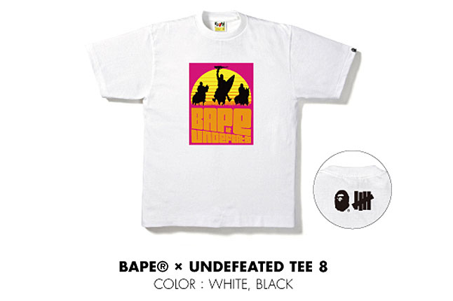 On Sale Tomorrow: Bape x Undefeated Collaboration