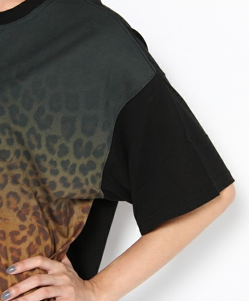 Facetasm Leopard Print T-Shirt