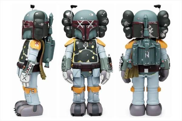 Buy OriginalFake KAWS Boba Fett Japan Exclusive
