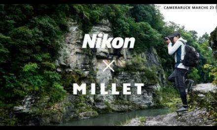 New Nikon x Millet Camera Bags