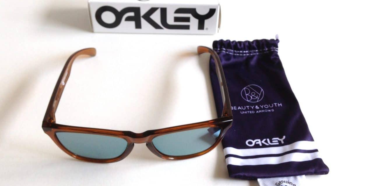 BEAUTY & YOUTH UNITED ARROWS X OAKLEY FROGSKINS SUNGLASSES