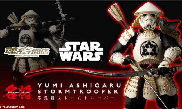 Limited-Edition Star Wars Samurai Stormtrooper Bow Footman