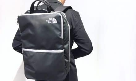 New Black and Silver North Face Bite 25 Computer Bag