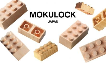 MOKULOCK WOODEN LEGO-STYLE BLOCKS SET