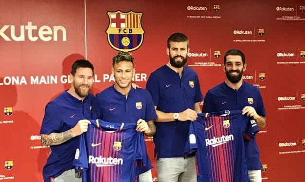 Rakuten Celebrates Launch of FC Barcelona Partnership and New Jerseys