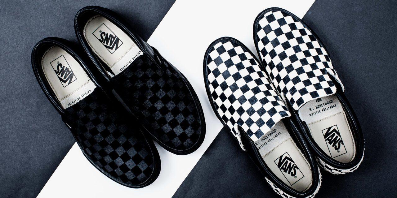 N. Hoolywood x Vans Slip-On Sneakers