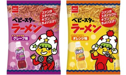 Fanta-Flavored Ramen Snacks