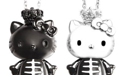 Punk Rock Pussycat: Justin Davis for Hello Kitty