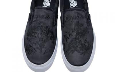 Vans x Rollicking All-Black Collaboration Slip-On